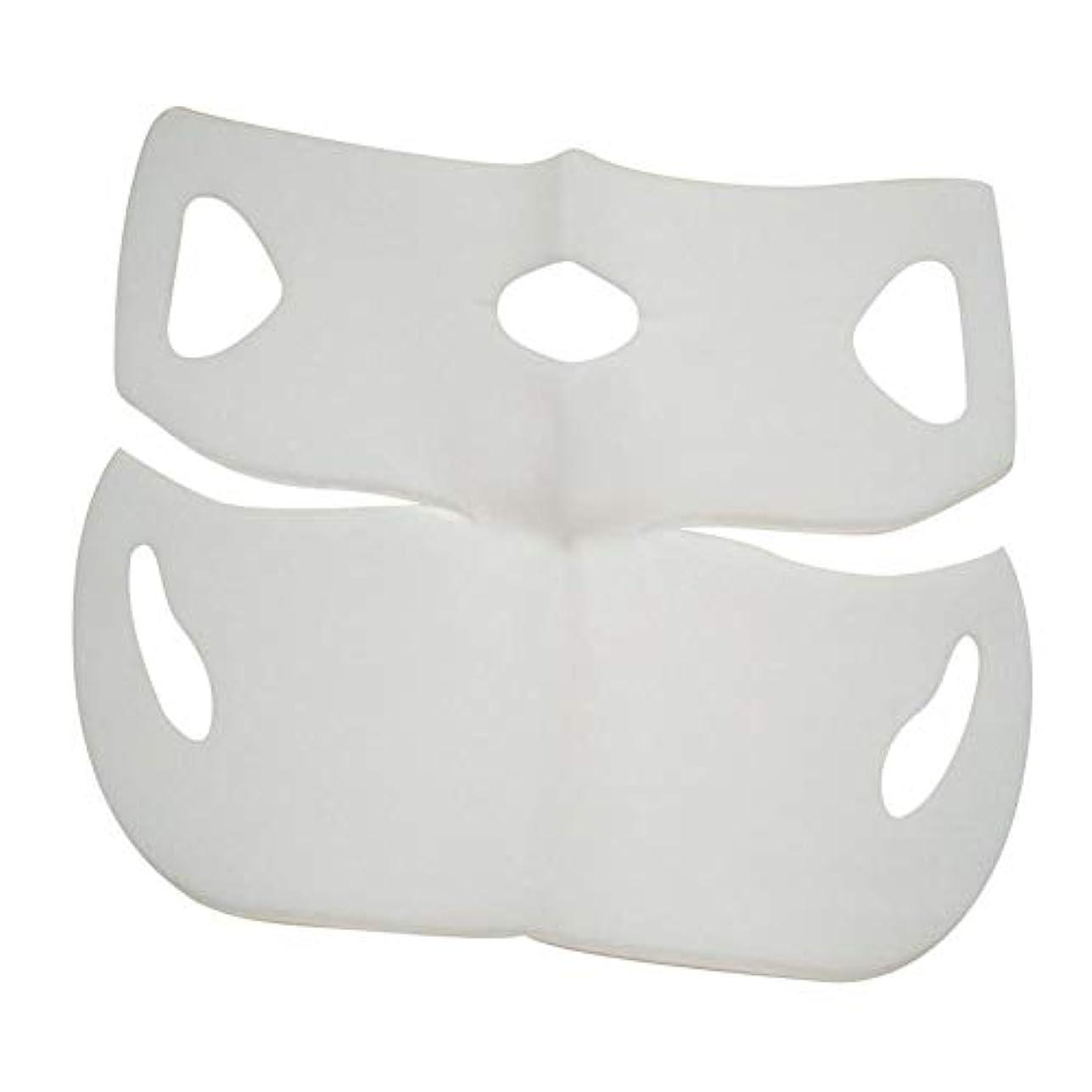 SILUN 最新型 4D Vフェイシャルマスク フェイスマスク 小顔 マスク フェイスラインベルト 美顔 顔痩せ 肌ケア 保湿 毛細血管収縮 睡眠マスク