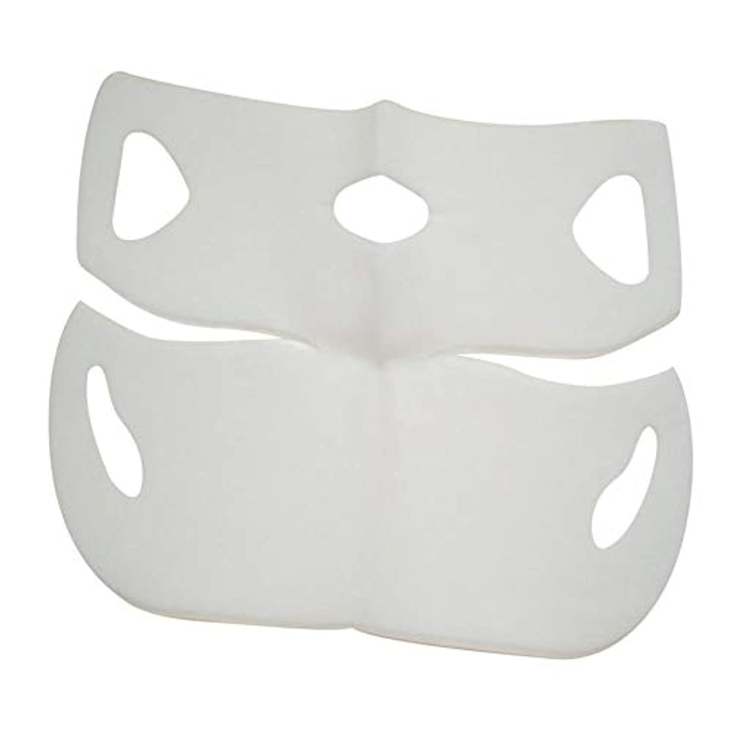 予報怖がらせる休眠SILUN 最新型 4D Vフェイシャルマスク フェイスマスク 小顔 マスク フェイスラインベルト 美顔 顔痩せ 肌ケア 保湿 毛細血管収縮 睡眠マスク
