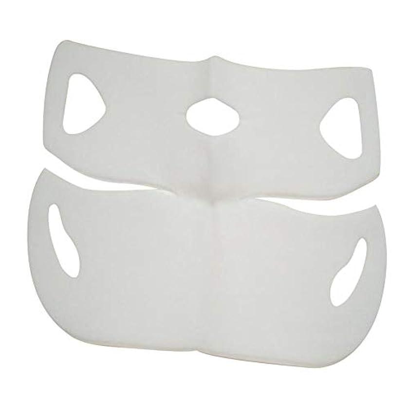 霜ダイアクリティカルはっきりとSILUN 最新型 4D Vフェイシャルマスク フェイスマスク 小顔 マスク フェイスラインベルト 美顔 顔痩せ 肌ケア 保湿 毛細血管収縮 睡眠マスク