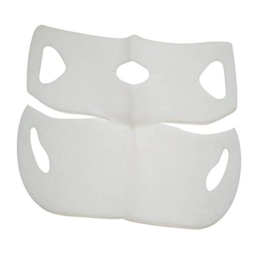 好ましいマンハッタンエステートSILUN 最新型 4D Vフェイシャルマスク フェイスマスク 小顔 マスク フェイスラインベルト 美顔 顔痩せ 肌ケア 保湿 毛細血管収縮 睡眠マスク