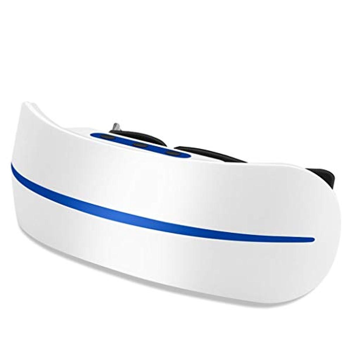 湿度縞模様の集団的アイマッサージャー視力回復剤アイ近視矯正アイプロテクターアイプロテクション軽減疲労ダークサークルアイマスク