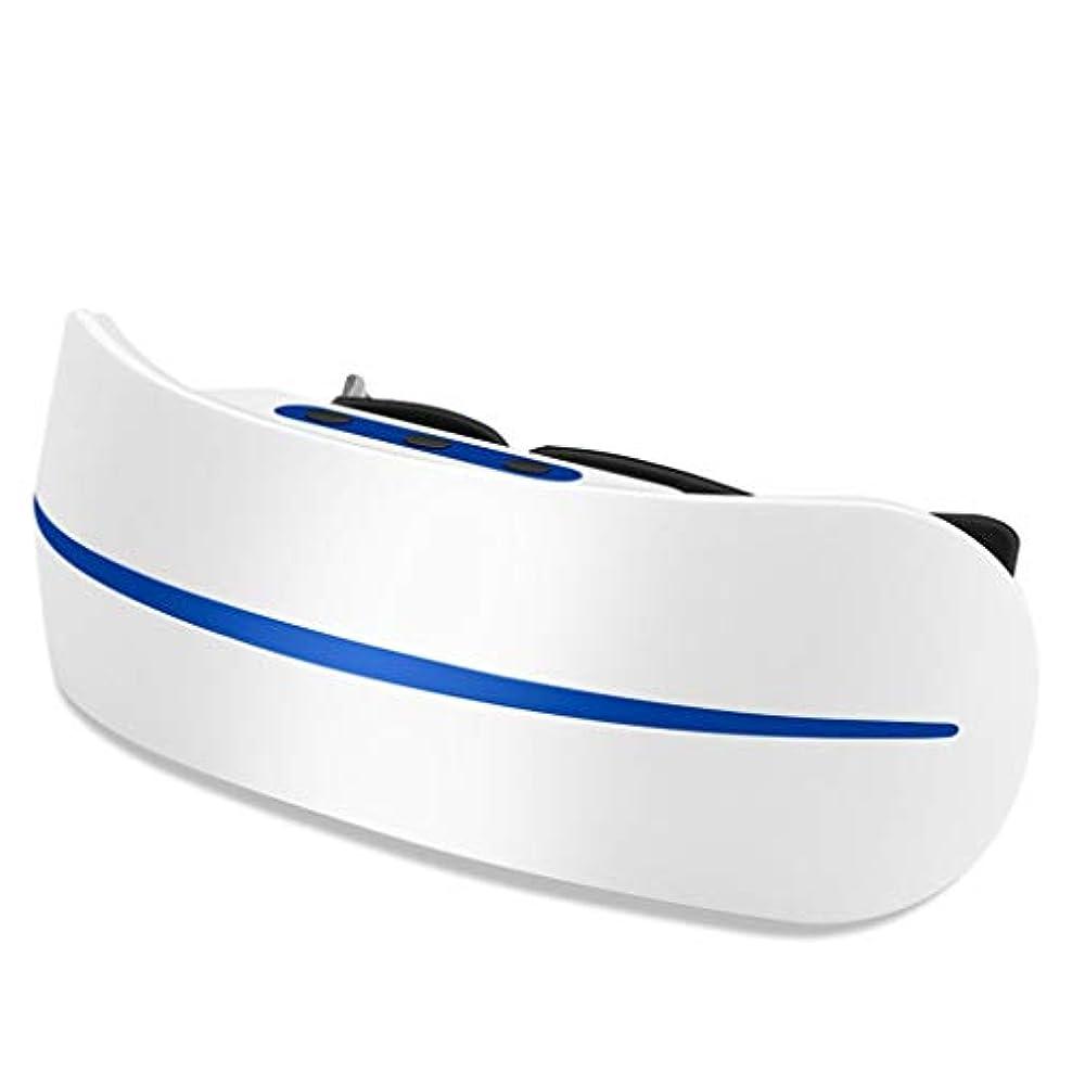 びっくりしたモンク電気陽性アイマッサージャー視力回復剤アイ近視矯正アイプロテクターアイプロテクション軽減疲労ダークサークルアイマスク