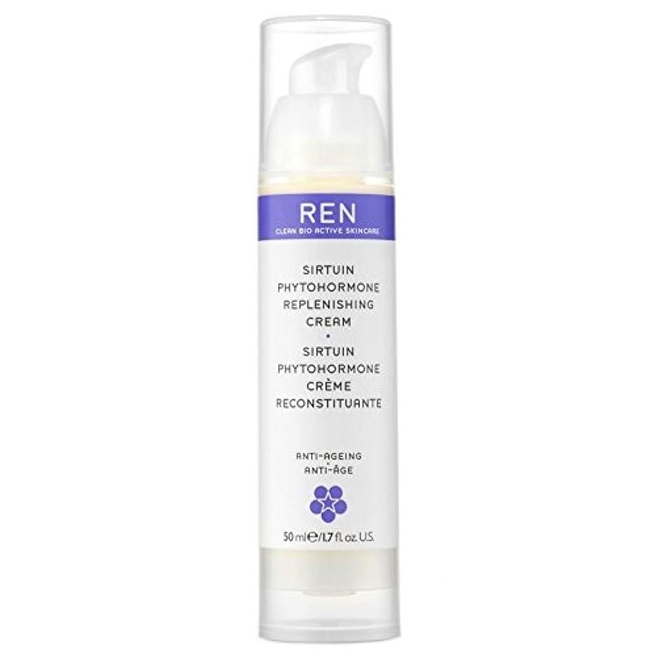 争う持ってる誘惑REN Sirtuin Phytohormone Replenishing Cream - サーチュイン植物ホルモン補充クリーム [並行輸入品]