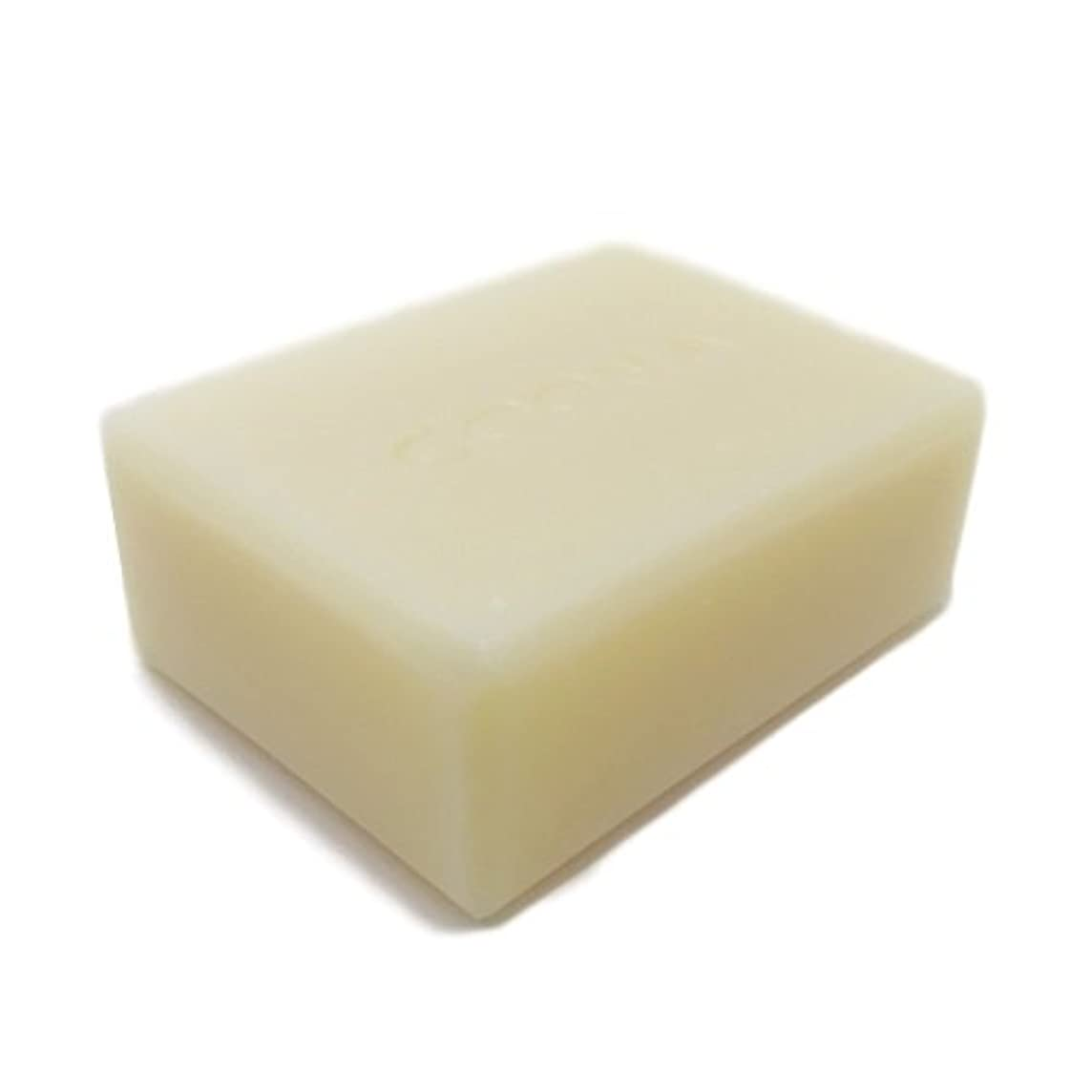 前方へめんどりキャスト洗顔石鹸 COONAピュアEO石けん ゼラニウム (天然素材 自然派 コールドプロセス 手作り せっけん) 80g