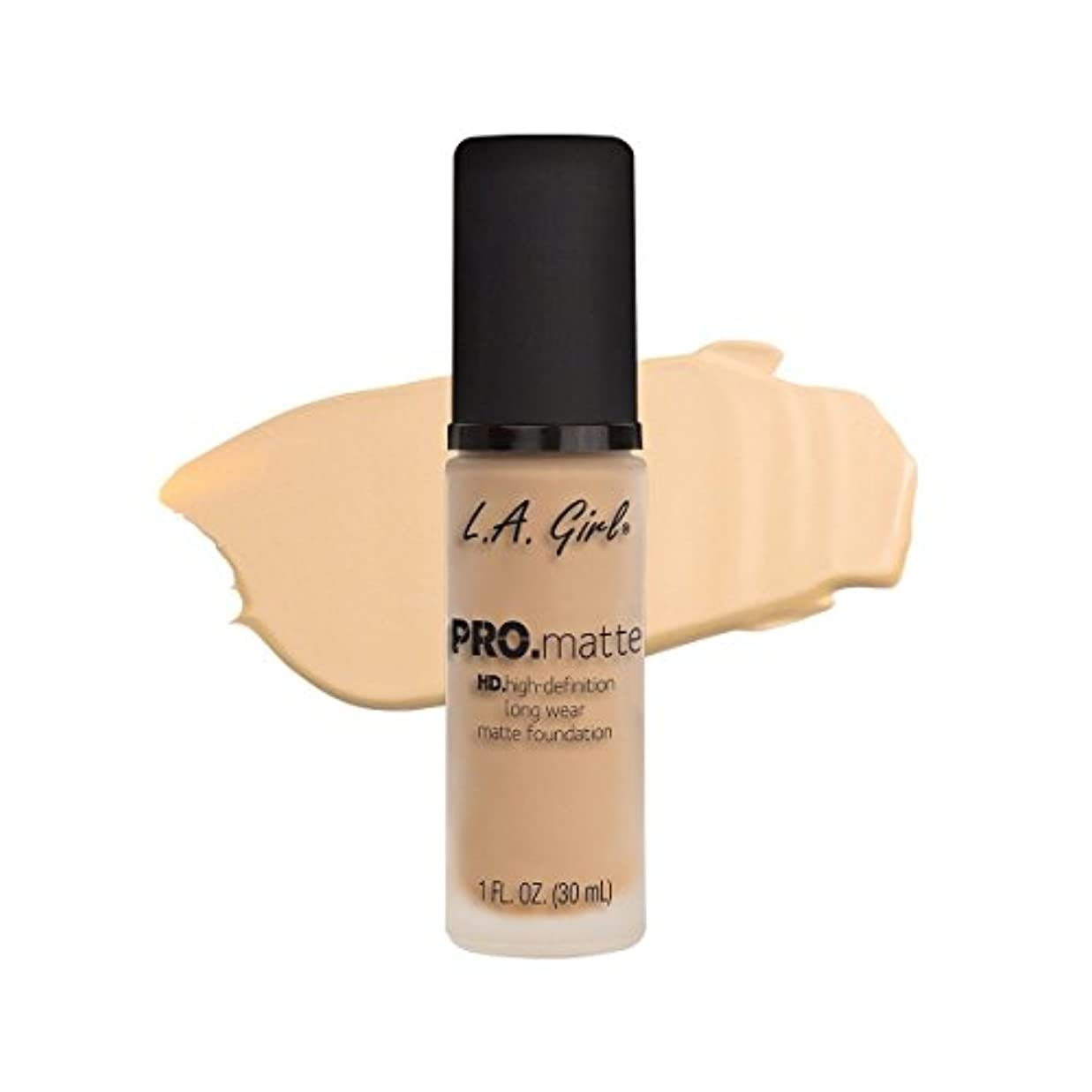 統合説得たとえ(6 Pack) L.A. GIRL Pro Matte Foundation - Ivory (並行輸入品)