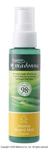 オーガニックマドンナ アロマガードミスト80ml(オーガニック98%配合・虫よけアロマミスト)