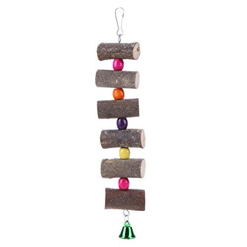 [해외]Everpert 애완 동물 용품 씹는 장난감 잉꼬 앵무새 조류 장난감 鳥用 품 스트레스 해소 놀이 교육 훈련 나무 매달아 바구니 장식/Everpert Pet Supplies Bite Toys Inco-parrot Birds Toy Birds Items Stress Relief Play Education Training Wooden...