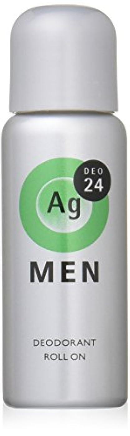 寛容なシエスタ電気的エージーデオ24 メンズデオドラントロールオン スタイリッシュシトラスの香り 60mL (医薬部外品)