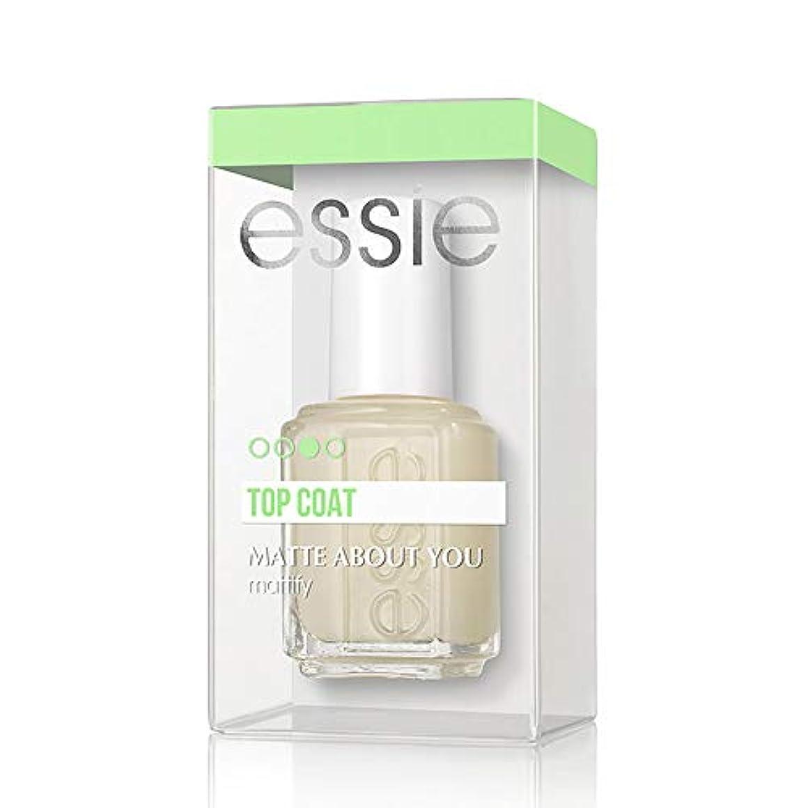 ベギン塩辛い予防接種するEssie(エッシー) マット アバウト ユー トップコート