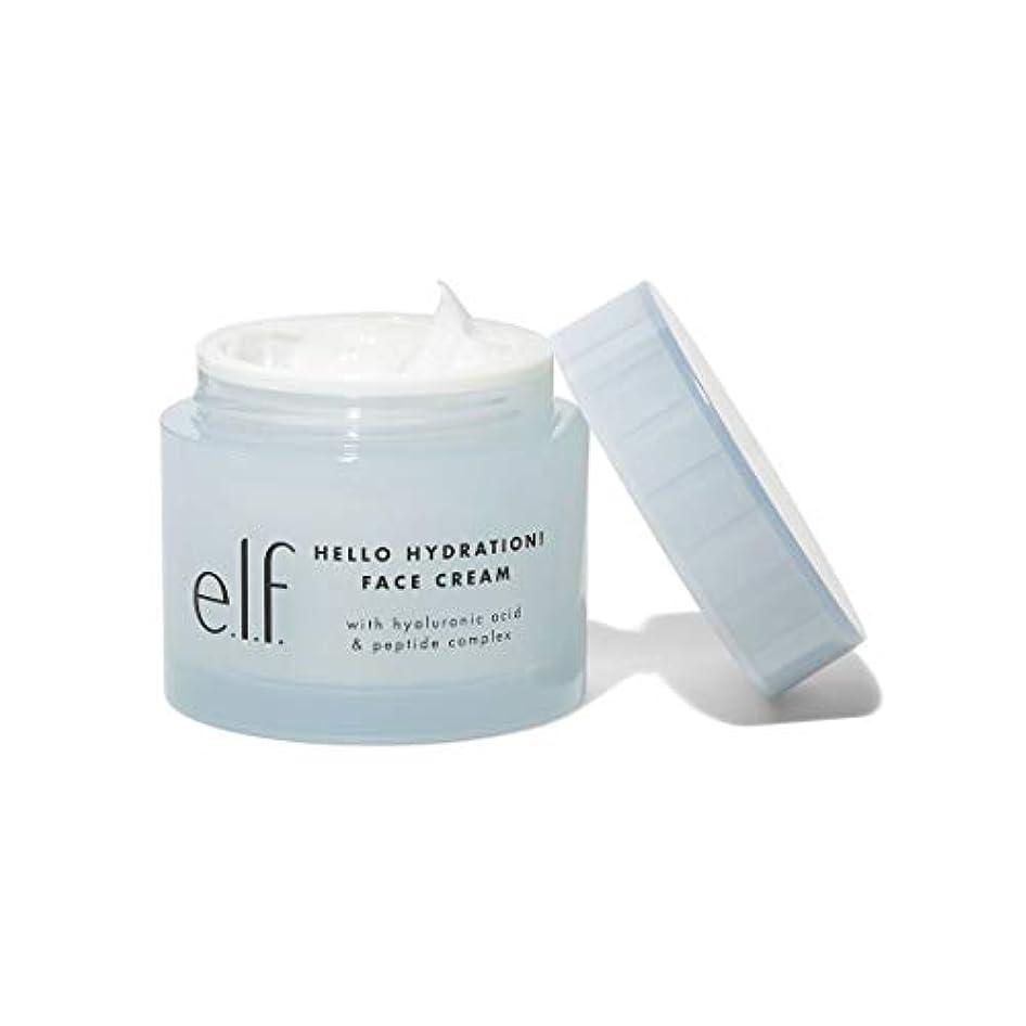 のれん夫堀(3 Pack) e.l.f. Hello Hydration Face Cream (並行輸入品)