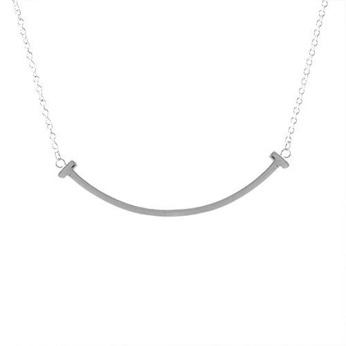 new concept 864b5 22afa ティファニー(Tiffany) シルバー スマイル|ネックレス ...
