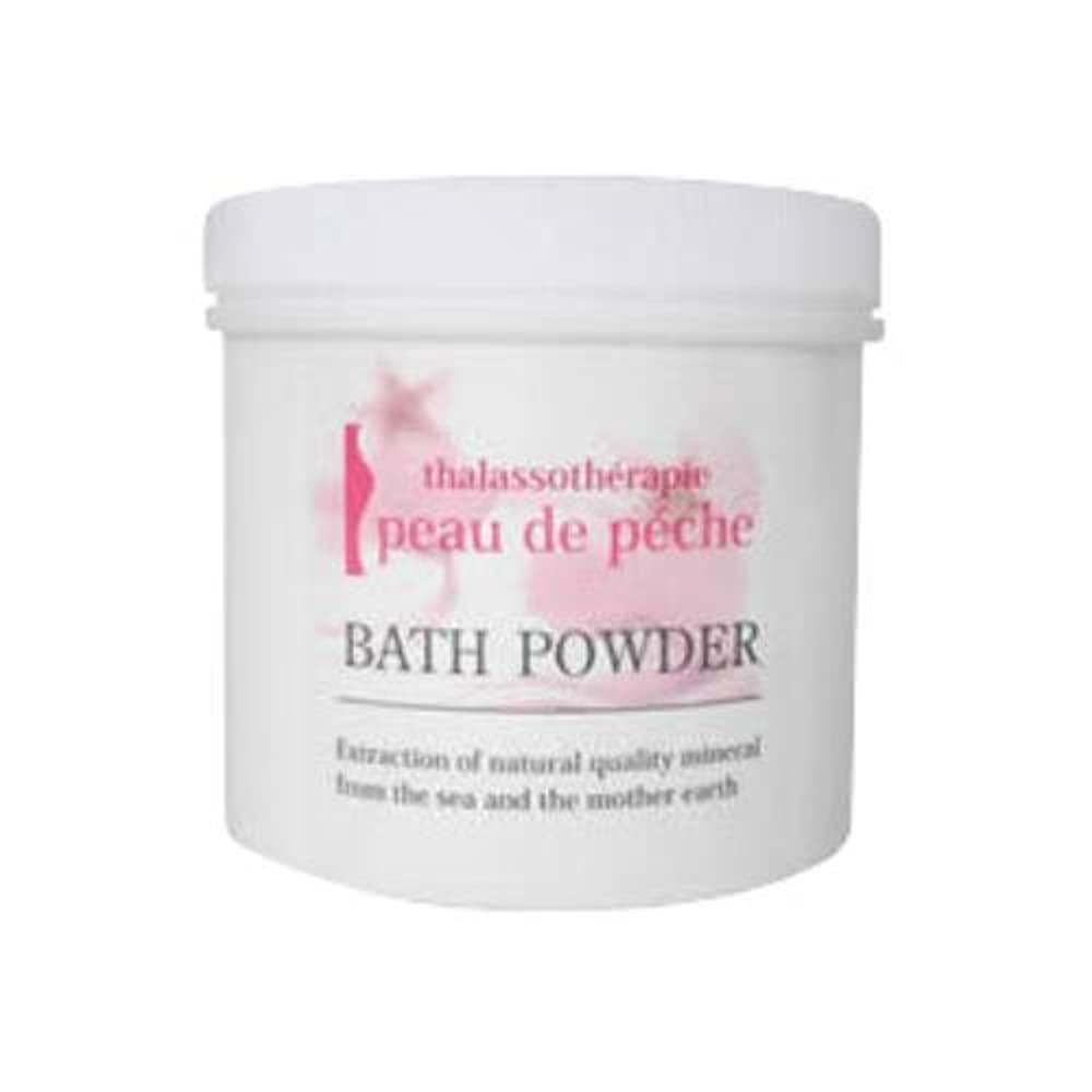 ダメージ擬人化解釈的peau de peche BATH POWDER ポードペシェバスパウダー 750g