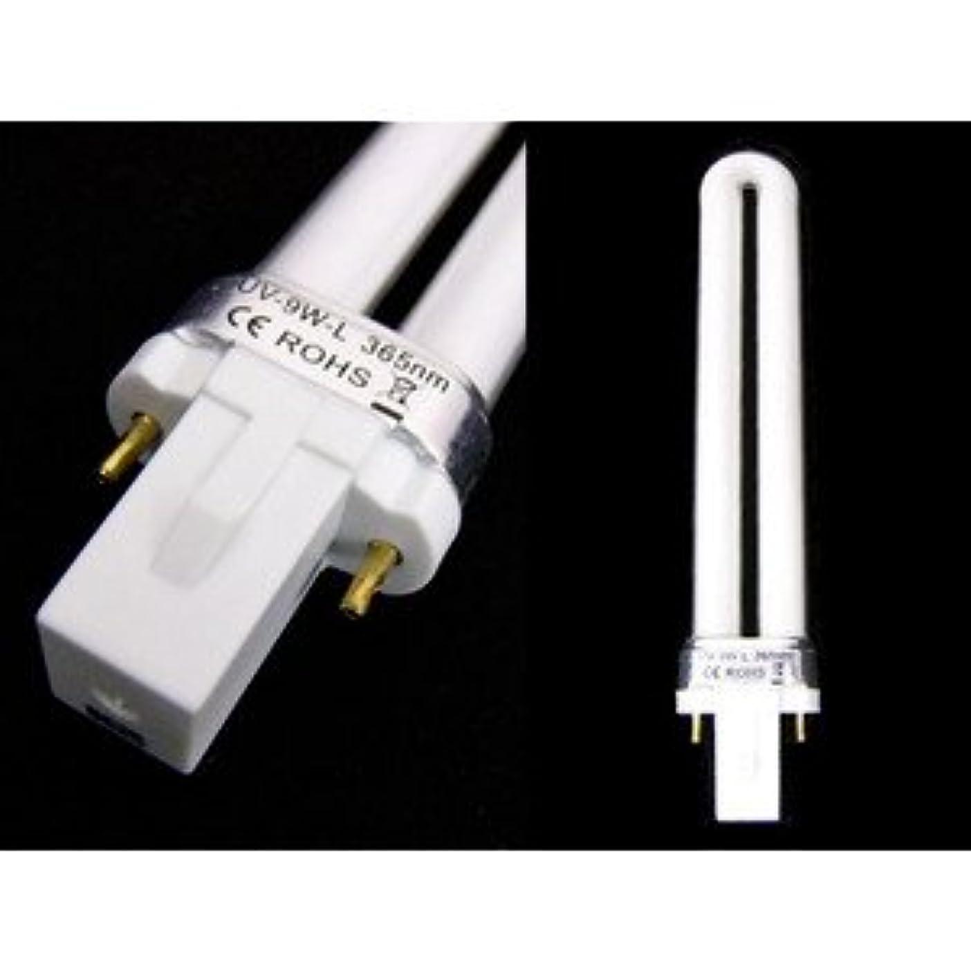 ライタープライム控えめな交換用ライト(ジェルネイル専用UVライト)
