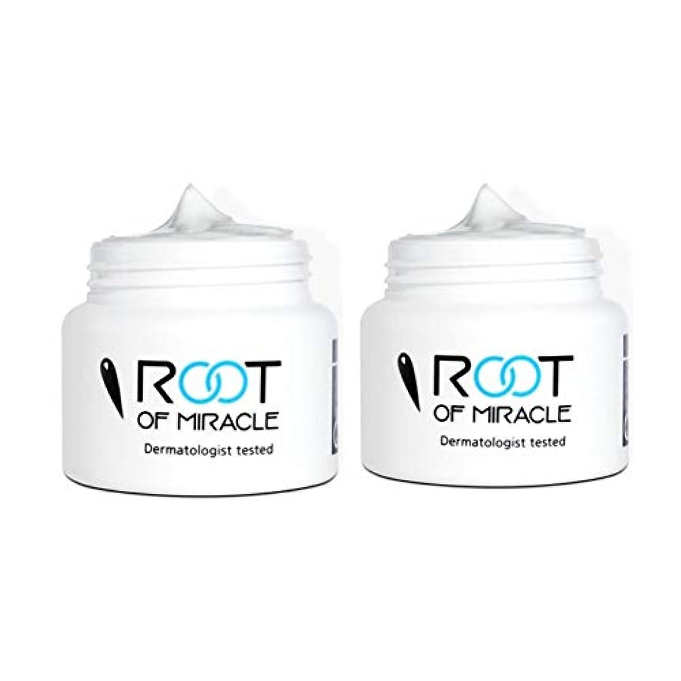 計算するジーンズ教授ルートオブミラクル50mlx2本セットシミ色素沈着の美白クリーム韓国コスメ、Root of Miracle 50ml x 2ea Set Freckled Cream Whitening Cream Korean Cosmetics [並行輸入品]