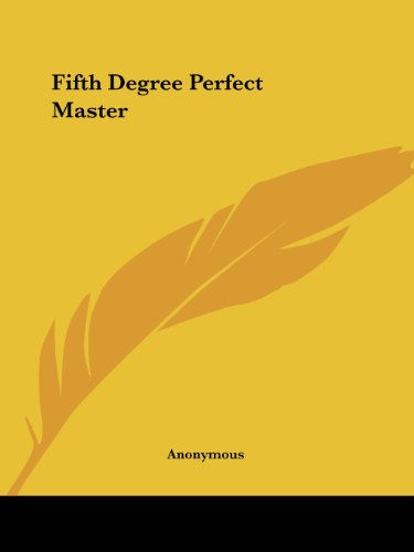 Download Fifth Degree Perfect Master 142532732X
