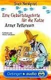Eine Geburtstagstorte fuer die Katze / Armer Pettersson. Cassette . Lesung