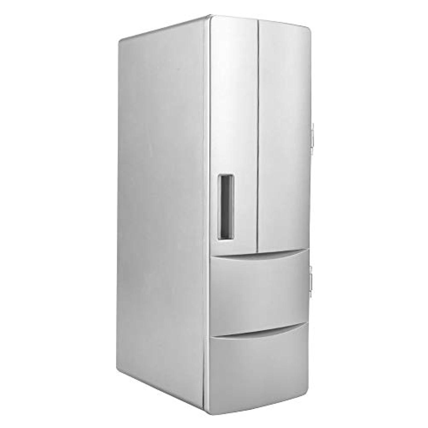 作詞家許される有料急速冷却USB Fridegポータブルミニ冷蔵庫冷凍庫、小型冷蔵庫冷凍庫、家庭用またはオフィスボート用の車