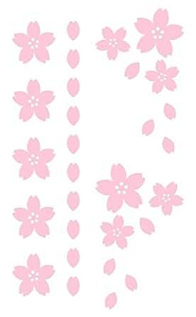 nc-smile 桜 さくら Petals of cherry blossoms ステッカー デカール シール