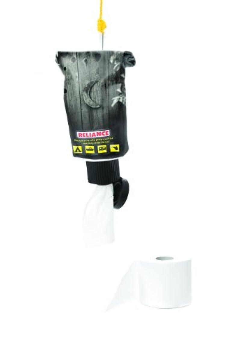 視力閉塞異常Reliance Tube Dry Sack Toilet Paper Dispenser (Grey, Small) by Reliance Products