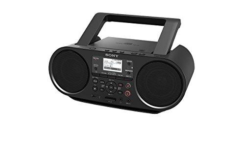 ソニー SONY CDラジオ ZS-RS80BT : FM/AM/ワイドFM対応 Bluetooth/NFC対応 語学学習用機能/オートスタンバイ機能搭載 ZS-RS80BT