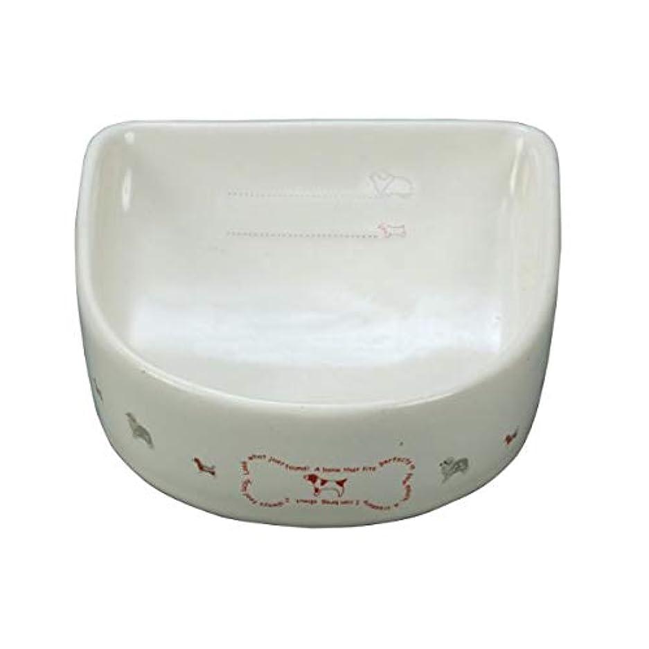 犬用陶器食器 メモリ付 ボーン M×8個