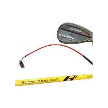 広田ゴルフ ロジャーキング ゴルフスイング練習機 スイングドクター ウェッジ バージョン 柔らかシャフト イエロー