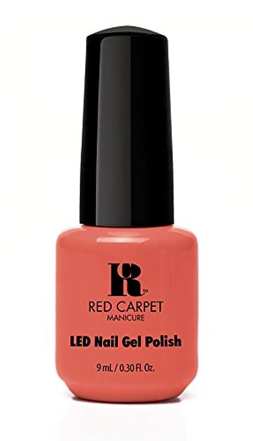 前述の時代遅れ特別なRed Carpet Manicure - LED Nail Gel Polish - Coral Wishes - 0.3oz / 9ml