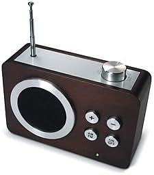 LEXON mini Dolmen ラジオ ダークブラウン la69-DW 4910079