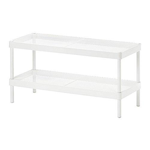 IKEA MACKAPAR シューズラック 78x32cm ホワイト