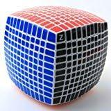 Liebeye マジックキューブ パズル玩具 プロフェッショナル 高次 マジックキューブ ホワイト