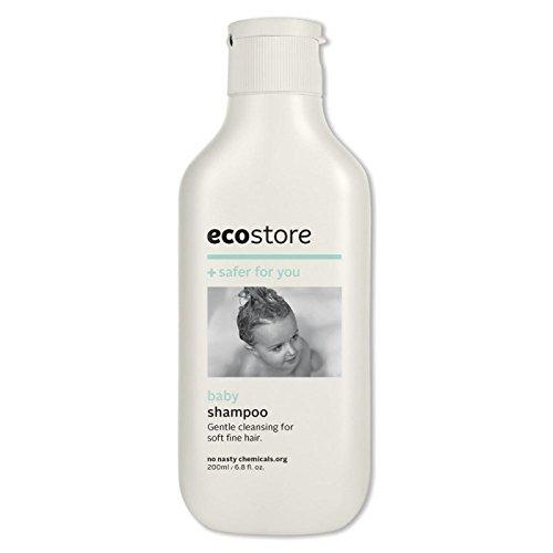 ecostore(エコストア) ベビーシャンプー 【ラベンダー&ゼラニウム】 200mL 赤ちゃん用 ベビーケア