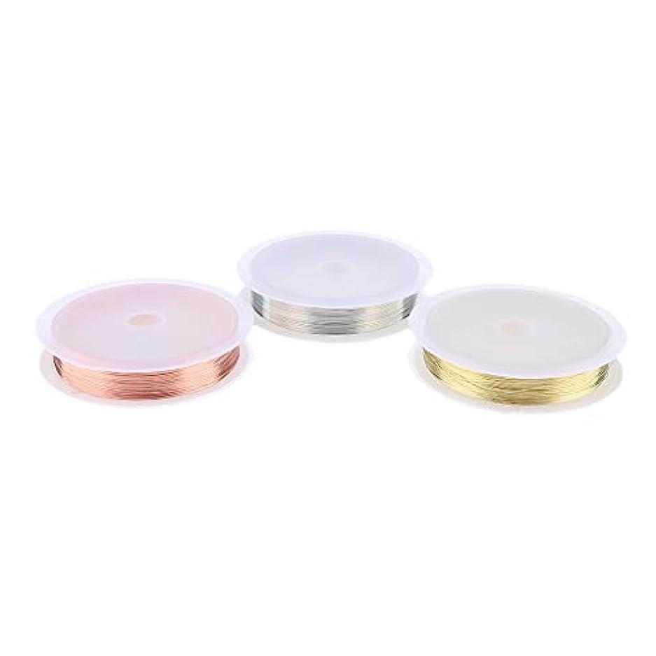 トラクターパスタ頻繁にCUTICATE 銅ラインロール ネイル ライン ネイルデコレーション 3Dネイルアート テープ 3個入り