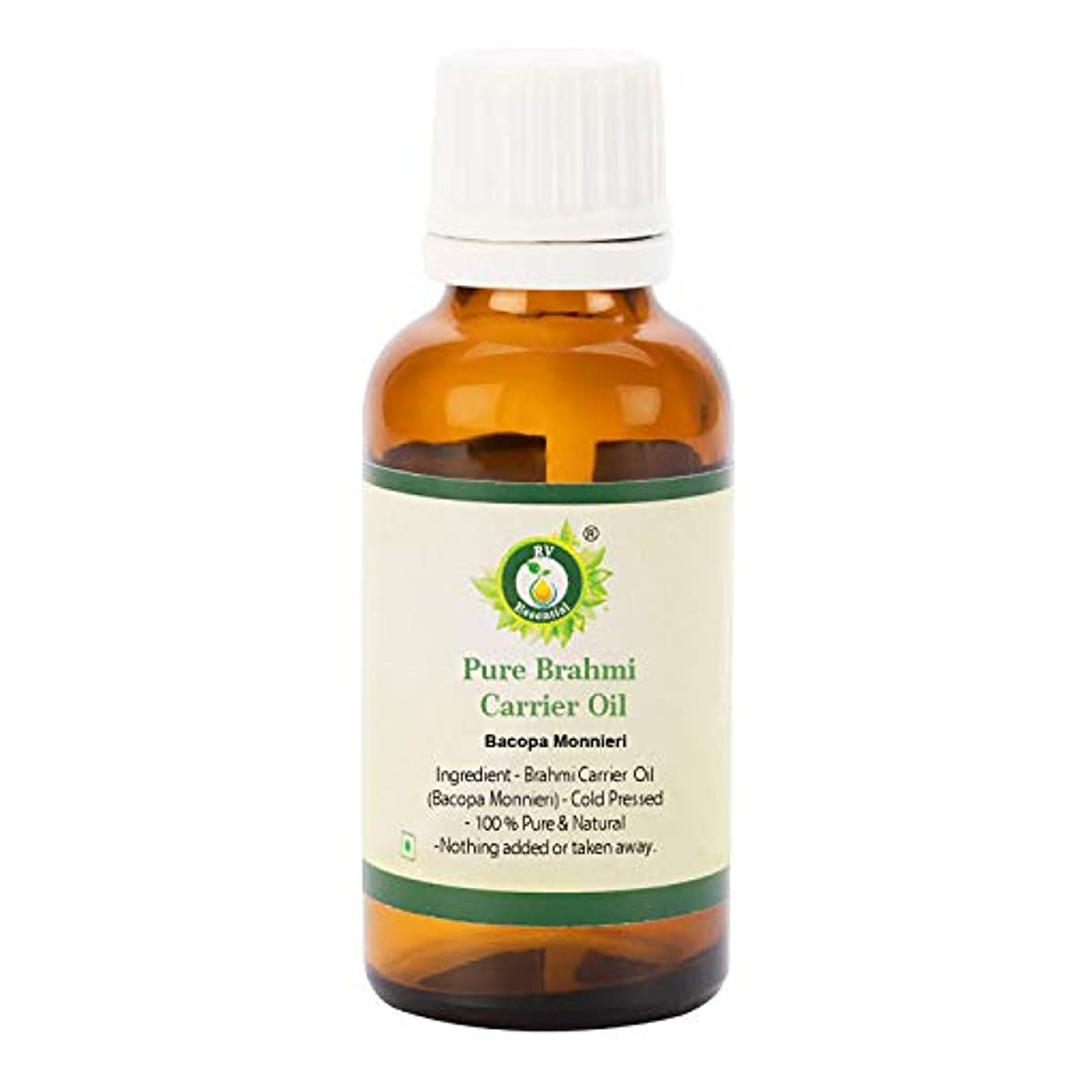 コメント宣教師ストレスの多い純粋なブラフミ油300ml (10oz)- Bacopa Monnieri (100%純粋で天然の希少ハーブシリーズ) Pure Brahmi Oil