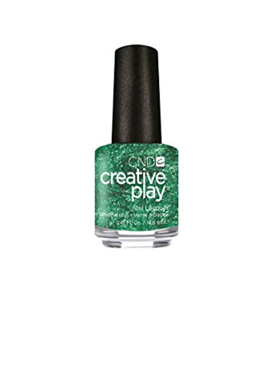 ゆでる従事する分布CND Creative Play Lacquer - Shamrock on You - 0.46oz / 13.6ml