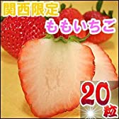 ももいちご 徳島県産 20粒 大粒 化粧箱入り