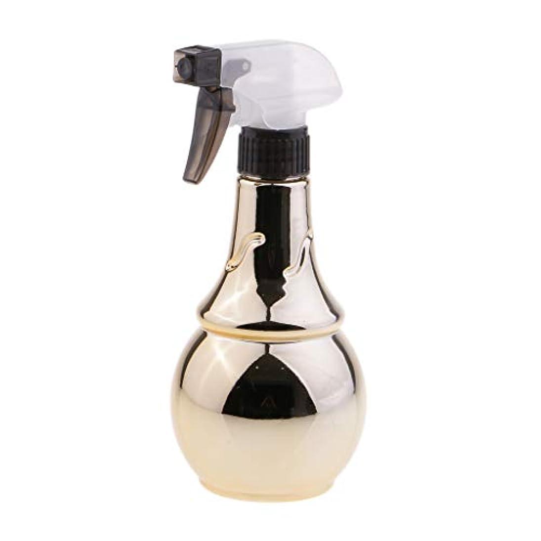 地球かもめ傘水スプレー 美容室 トリガースプレーボトル 水スプレー容器 霧吹き 300ミリリットル 2色選べ - 金