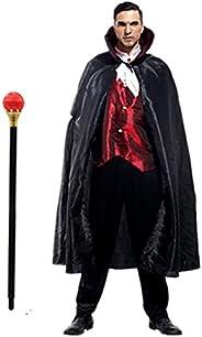 ヴァンパイア コスプレ メンズ ドラキュラ 衣装 ハロウィン 吸血鬼 仮装 大人 コスチューム EMIRIP