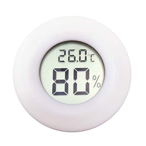ペット温度計LCDデジタル爬虫類温度湿度計LCD小...