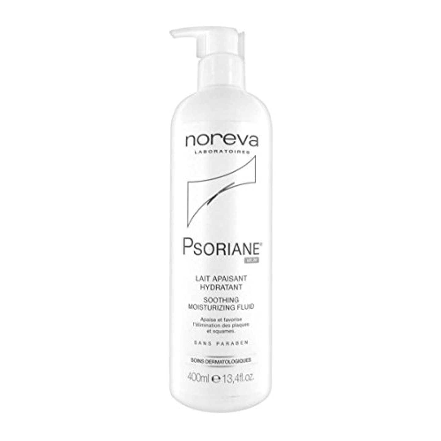 勧告不実記者Noreva Psoriane Soothing Moisturizing Fluid 400ml [並行輸入品]