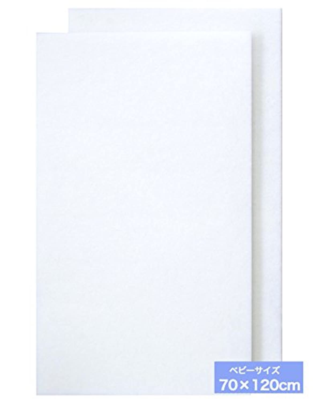 サンデシカ 洗えるベビー敷ふとん(固綿マット) ベビー布団用(70×120cm) 1291-8888-04