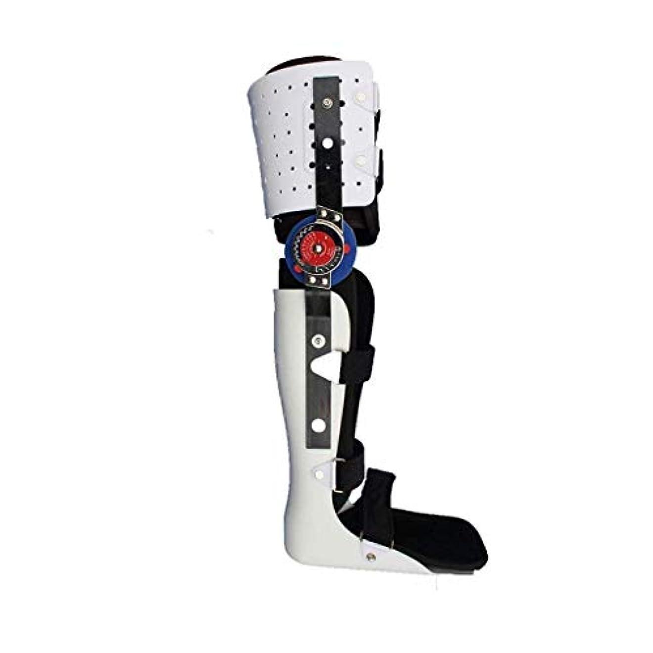 振り子クルー差別的下肢装具、ブレースウォーキング膝や足固定ブレース膝関節足首足Spportと下肢装具のサイズ(S/M/L) (Size : L)