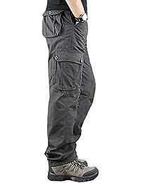 メンズ カーゴパンツ 作業ズボン ゆったり ワークパンツ ミリタリー チノチノパンツ 大きいサイズ