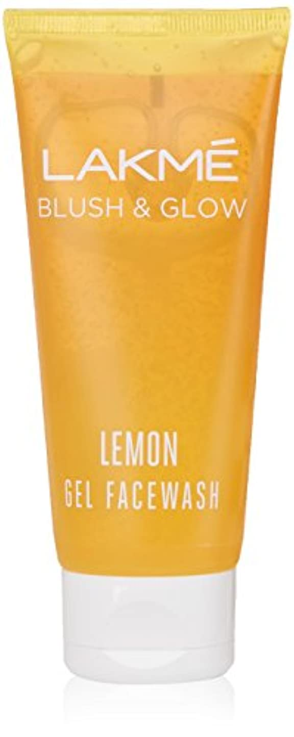 下手多数のアクセシブルLakme Blush and Glow Lemon Facewash, 100g