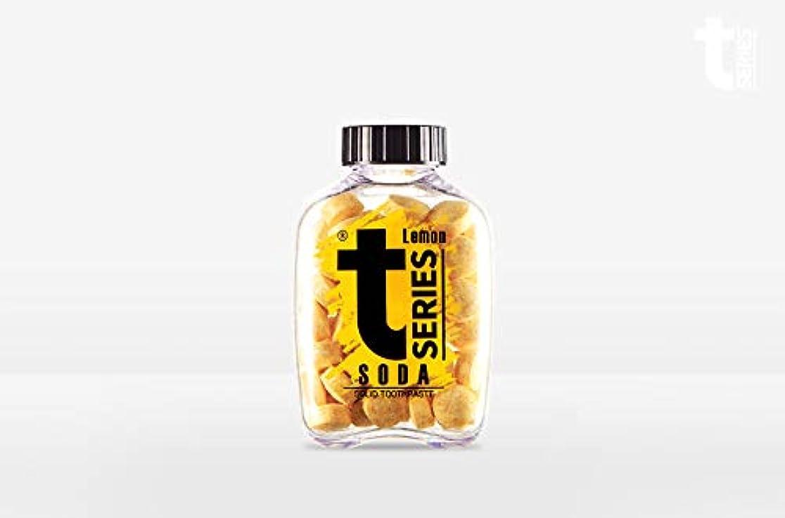 プレビスサイト協力する特徴T - シリーズチュアブル ポータブル練り歯磨きソリッドタブレット型60タブ# ソーダレモン