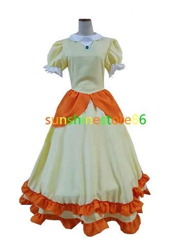 歴史家米国最小スーパーマリオブラザーズピーチ姫 コスプレ衣装