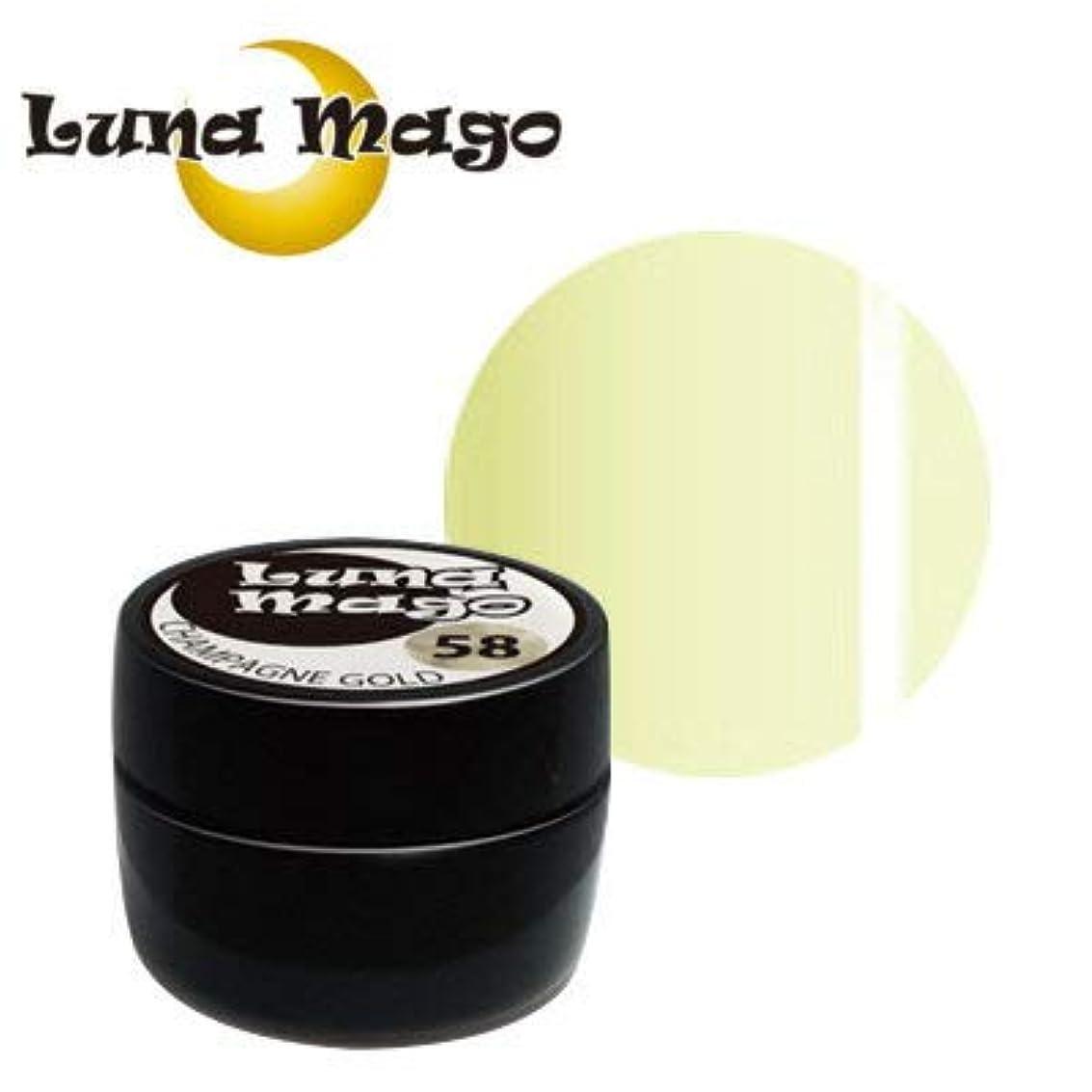 士気全部芝生Luna Mago カラージェル 5g 004 クリーム