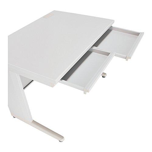 カグクロ オフィスデスク 事務用平机 ニューグレー W1000×D700×H700mm 事務机 KD-107H