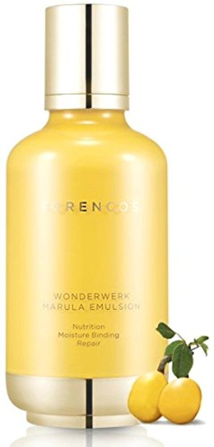 スカープ署名バケツ[FORENCOS] Wonderwerk Marula クリーム / Wonderwerk Marula Emulsion 130ml [並行輸入品]