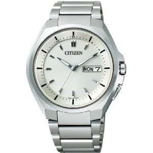 シチズン WATCH LINEUP アテッサ ATTESA エコ・ドライブ電波 メンズ 腕時計 at6010-59p シルバー×ホワイト [時計] [時計]