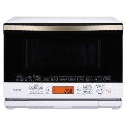 東芝 加熱水蒸気オーブンレンジ 26L 石窯ドーム グランホワイト ER-ND8(W)
